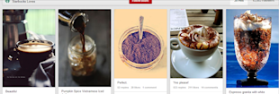 5 Reasons Why Starbucks' Pinterest Strategy is Not A Big Hit image Espresso Board