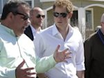 Prince Harry tours storm-ravaged N.J. shore