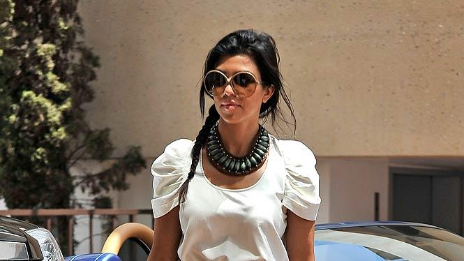 Kourtney Kardashian Il Pastaio