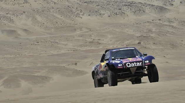 2013 Dakar Stage 2 Buggy Al-Attiyah