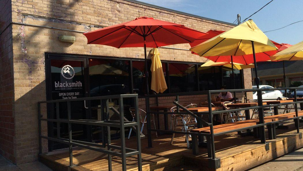 Blacksmith Opens a New Patio, Just In Time for Patio Season