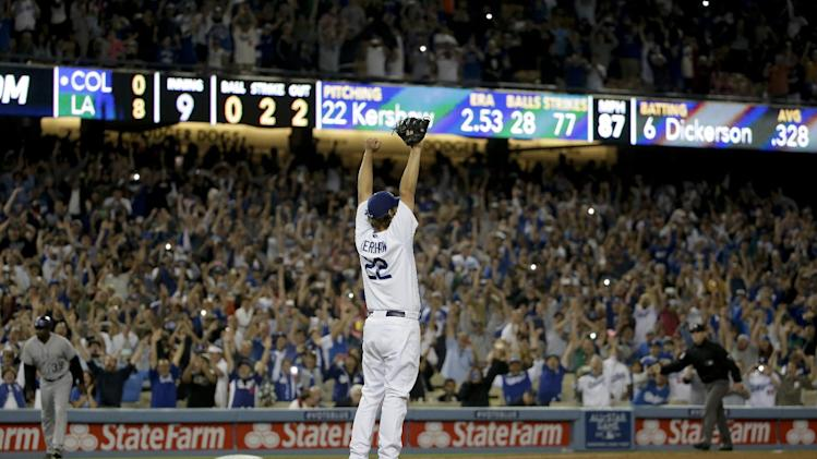 Clayton Kershaw's no-hitter nastiness summed up in one glorious…