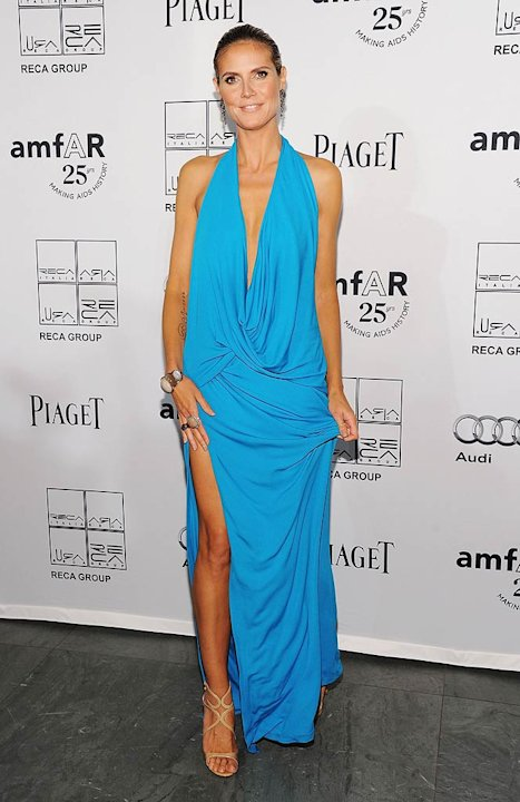 HeidiK Lum amfAR Gala