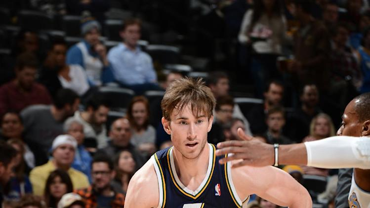 Hayward has big night, Jazz top Nuggets 103-93