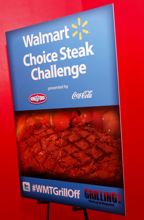 A general view of atmosphere appears at the Walmart Choice Steak Challenge presented by Kingsford charcoal and Coca-Cola on May 22, 2012 in the New York City. (Brian Ach /AP Images for Kingsford)