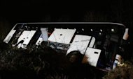 M3 Coach Crash: Driver Passed Out At Wheel
