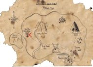 Treasure map.