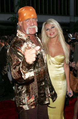 Premiere: Hulk Hogan and Brooke Hogan at the New York premiere of Paramount Pictures' War of the Worlds - 6/23/2005