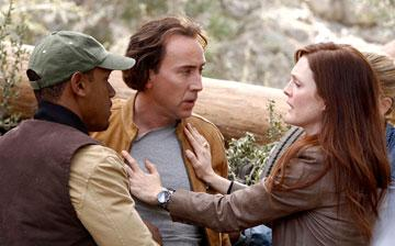 Nicolas Cage and Julianne Moore in Paramount Pictures' Next