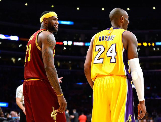 LeBron James Reflects On Kobe Bryant's Career Ahead Of Wednesday's Matchup