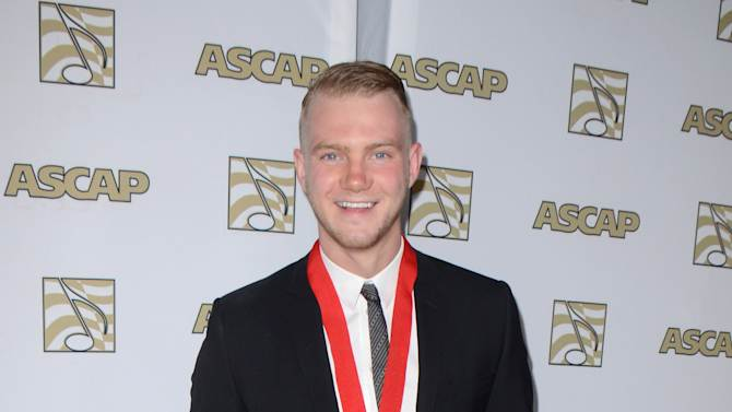 Songwriter Ed Drewett arrives at the 30th Annual ASCAP Pop Music Awards, on Wednesday, April 16, 2013, at Loews Hollywood Hotel in Hollywood, California. (Photo by Tonya Wise/Invision for ASCAP/AP Images)
