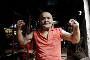 Manohar Aich, Mr. Universe 1952 Turns 100