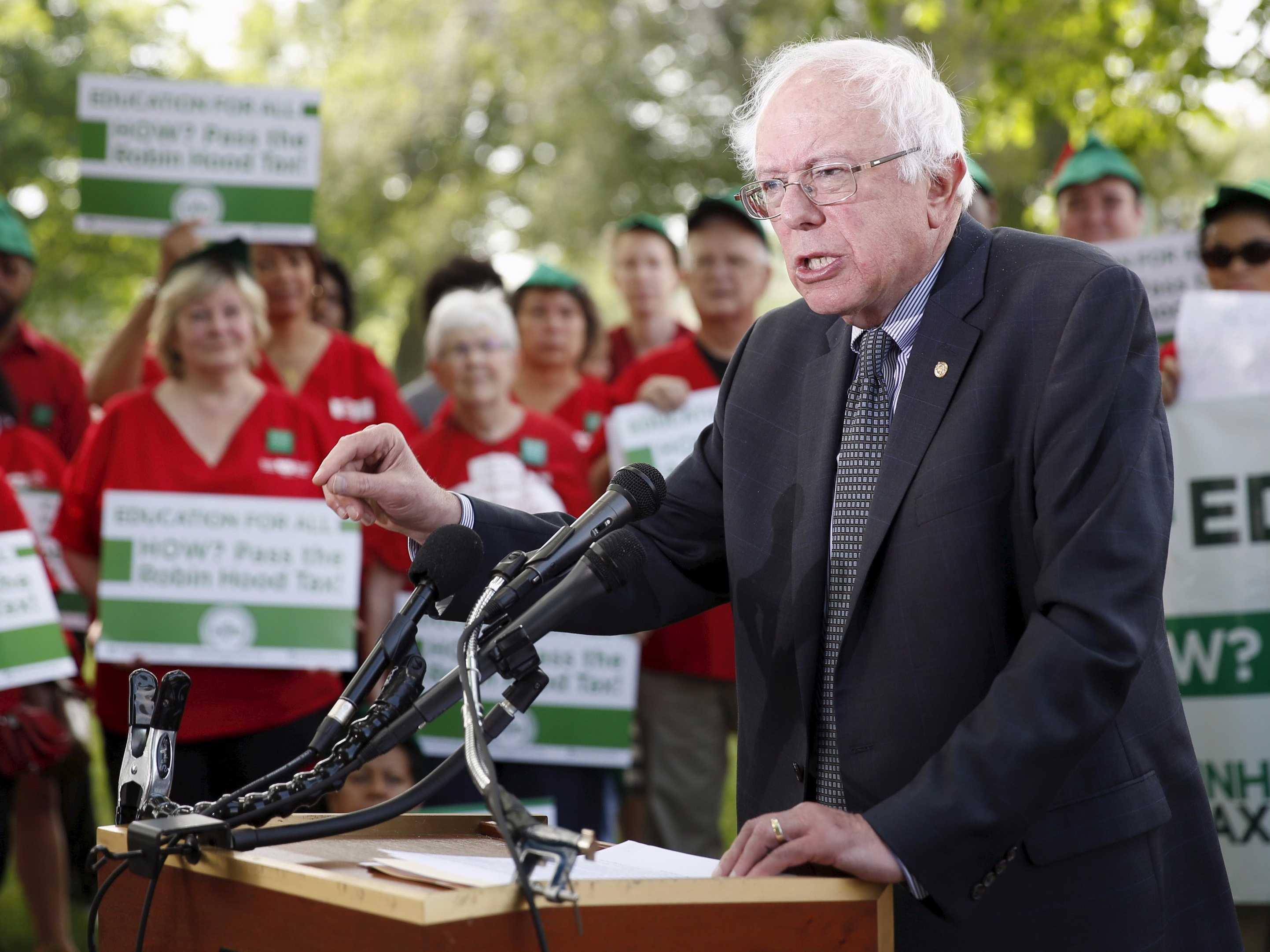 Bernie Sanders: Hillary Clinton's money 'hustle' could isolate her from reality