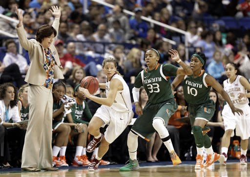 No. 23 FSU women top Miami 70-58 in ACC quarters