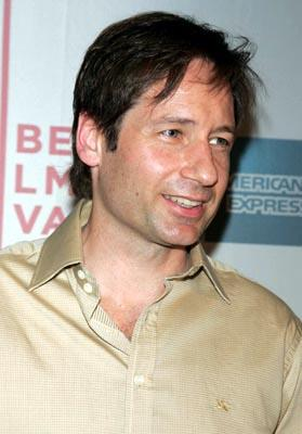 David Duchovny Tribeca Film Festival, May 7, 2004
