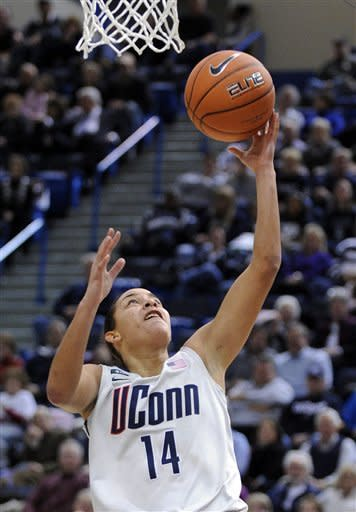 No. 2 UConn women cruise to 97-25 rout of Oakland