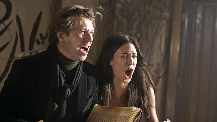 Gary Oldman Odette Yustman The Unborn Production Stills Rogue 2009