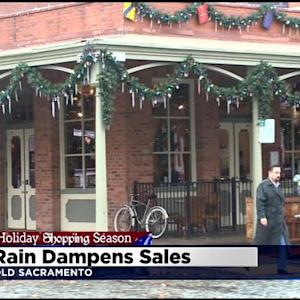Above-Average Rainfall Slowing Sales In Old Sacramento