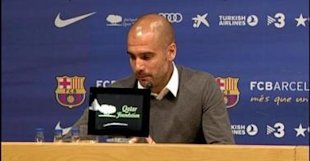 Guardiola leaves Barcelona
