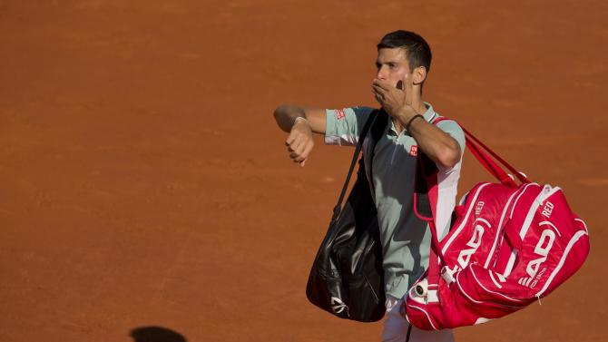 Tennis: French Open- Nadal vs Djokovic