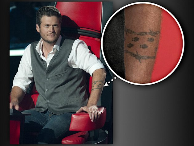 THE VOICE' REGRETFUL TATTOOS!