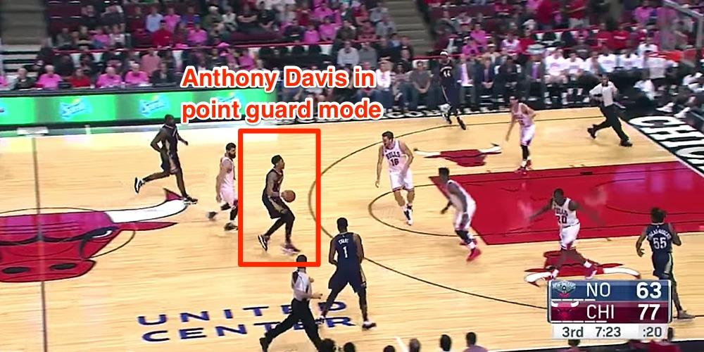 One play shows why the NBA should be terrified of Anthony Davis