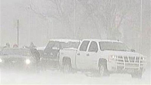 'Crippling' Blizzard Bears Down On Central US