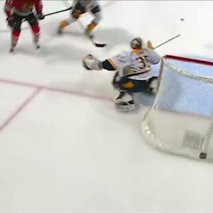 Rinne robs Hossa at the end of the 3rd period