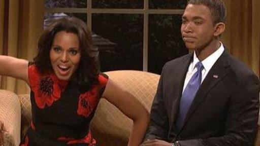 Kerry Washington Has an Extra Busy Night On 'SNL'
