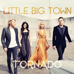 "This CD cover image released by Capitol Records Nashville shows the latest release by Little Big Town, ""Tornado."" (AP Photo/Capitol Records Nashville)"