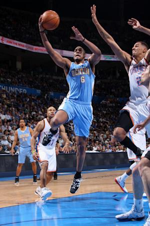 Nuggets beat Thunder 106-101 to avoid No. 8 seed