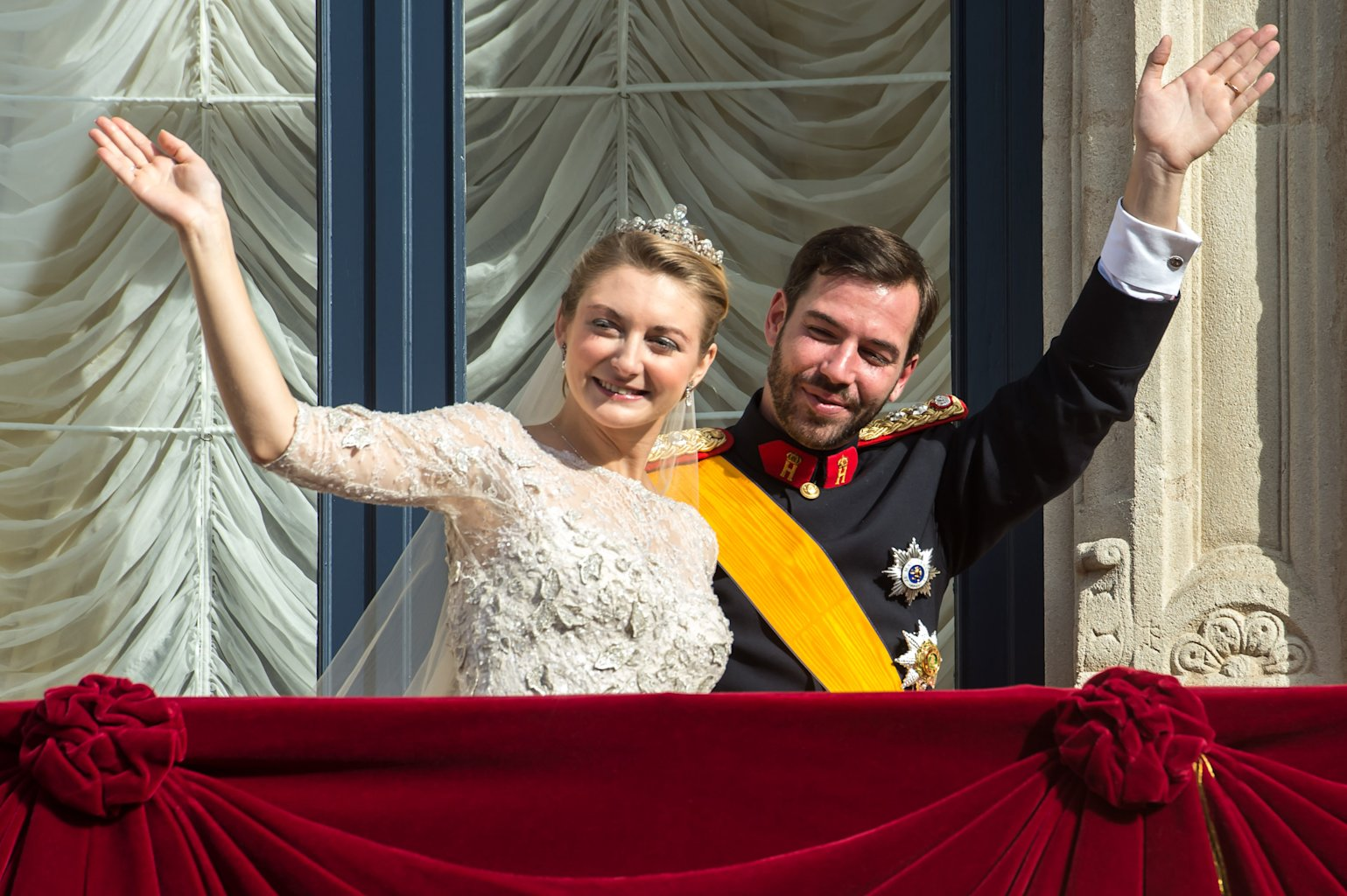 Luxembourg Royals Tie Knot In Religious Ceremony