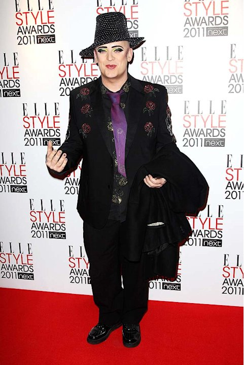 Boy George ELLE Style Awards