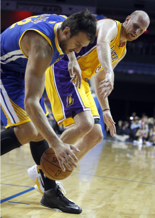 Warriors Lakers Basketball