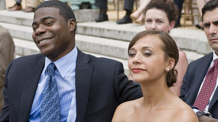 Cop Out 2010 Warner Brothers Production Photo Tracy Morgan Rashida Jones