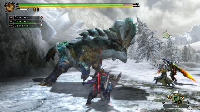 Monster Hunter 3 Ultimate Wii U Demo