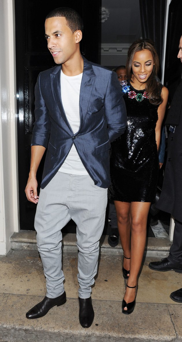 Marvin Humes and Rochelle …