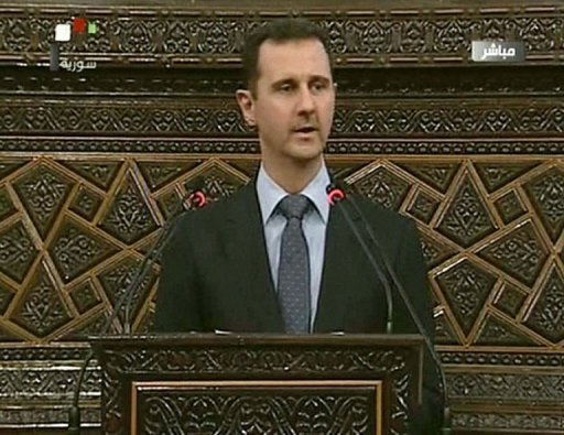 Bashar al-Assad paid tribute to civilian and military