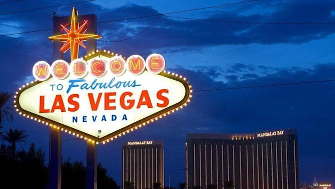 File photo of the Mandalay Bay Resort and Casino along the strip in Las Vegas.