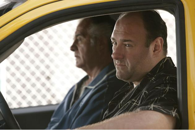 Tony Sirico, James Gandolfini,