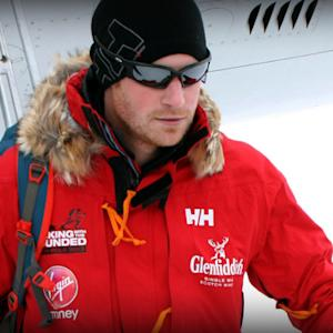 Prince Harry on South Pole trek: