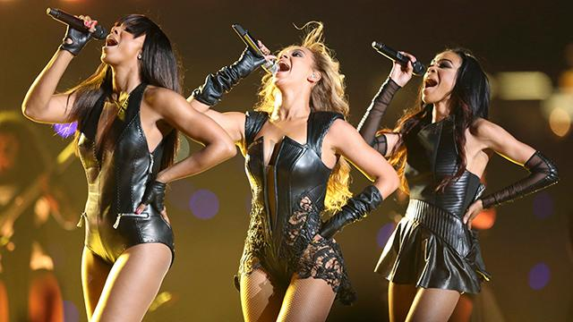 Beyonce, Destiny's Child reunite for Super Bowl halftime show