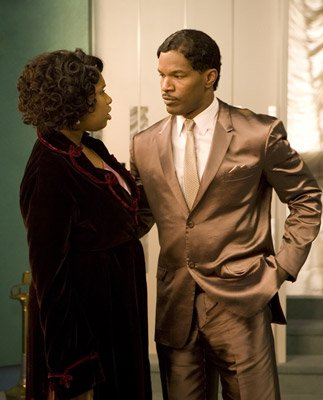 Jennifer Hudson and Jamie Foxx in DreamWorks Pictures' and Paramount Pictures' Dreamgirls