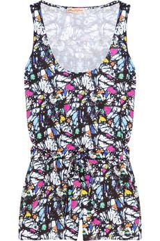 Mara Hoffman Printed jersey playsuit, $185, at Net-a-Porter