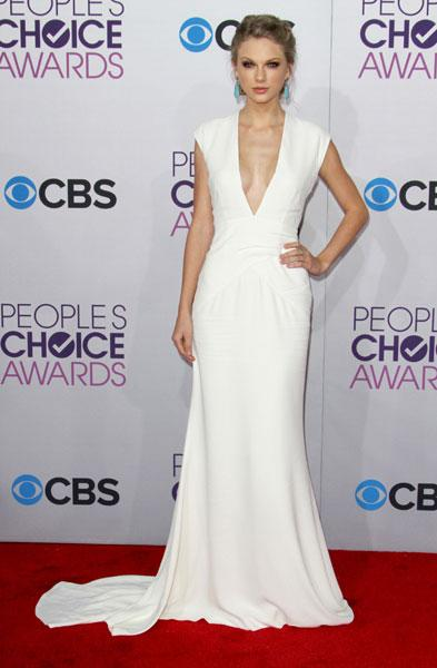 Best dressed: Taylor Swift Image © Rex