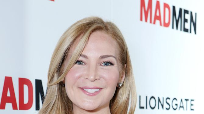 Jennifer Westfeldt at the AMC Season 6 Premiere of Mad Men , on Wednesday, March, 20, 2013 in Los Angeles. (Photo by Alexandra Wyman/Invision for AMC/AP Images)