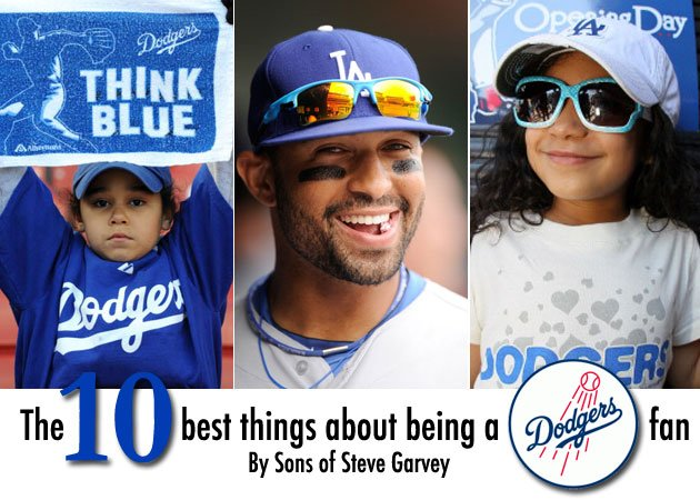 The 10 best things about being a DODGERS fan