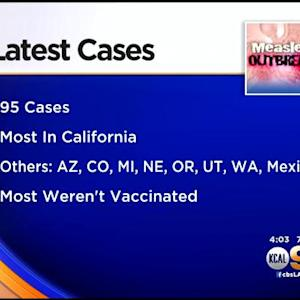 Disneyland Measles Outbreak Grows To 95 Cases Across 8 States