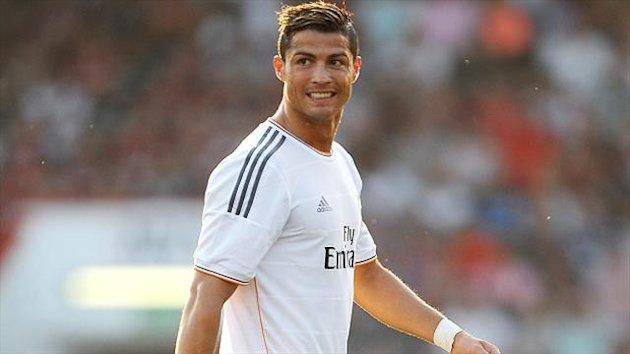 Cristiano Ronaldo does not feel at home playing as a centre-forward