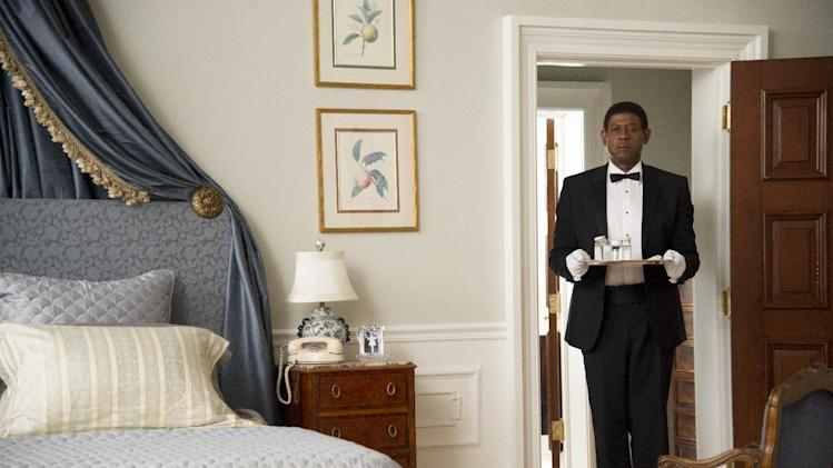 "FILE - This film image released by The Weinstein Company shows Forest Whitaker as Cecil Gaines in a scene from ""Lee Daniels' The Butler."" (AP Photo/The Weinstein Company, Anne Marie Fox, File)"